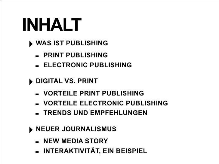 Die Evolution des Publishing Slide 2