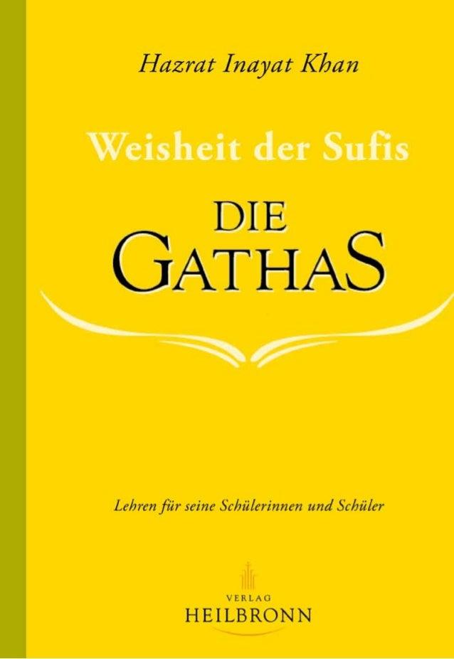 Hazrat Inayat Khan Lehren für seine Schülerinnen und Schüler Postfach 2162, 71370 Weinstadt