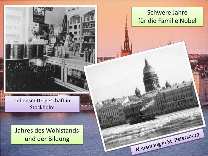 Die Geschichten Des Nobelpreises PräSentation Slide 3