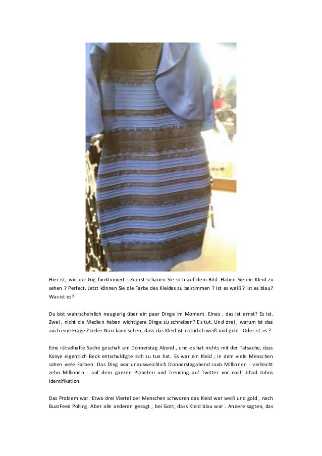 Hier ist, wie der Gig funktioniert : Zuerst schauen Sie sich auf dem Bild. Haben Sie ein Kleid zu sehen ? Perfect. Jetzt k...