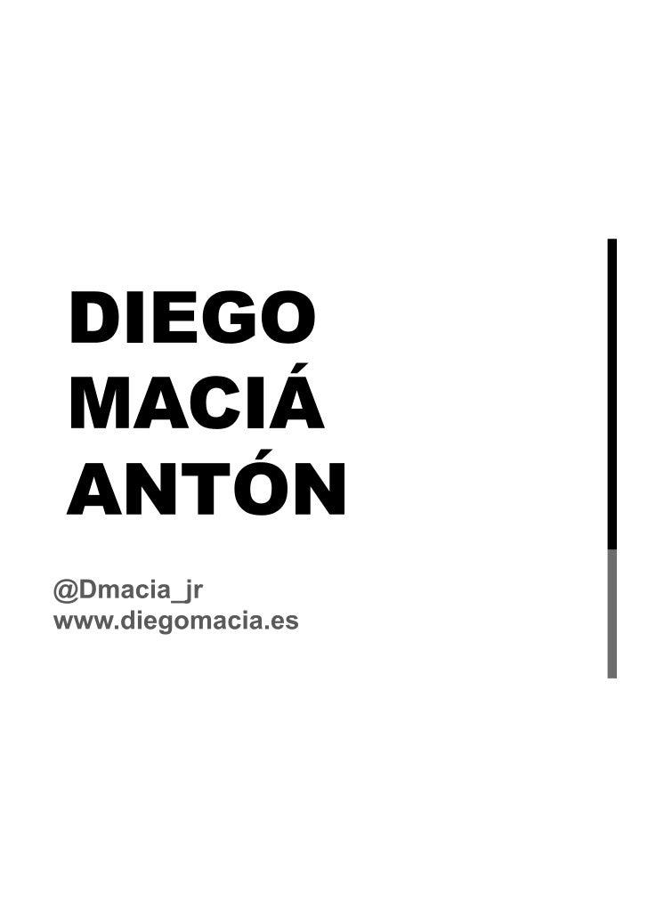 Diego macia presentación