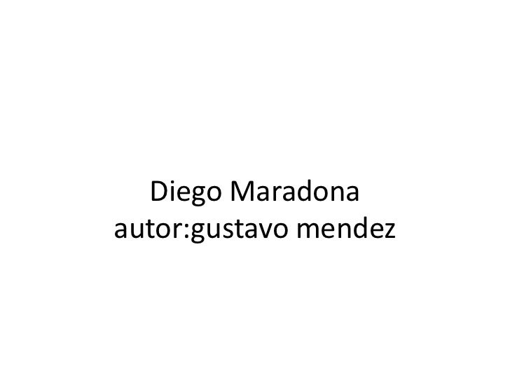 Diego Maradonaautor:gustavomendez<br />