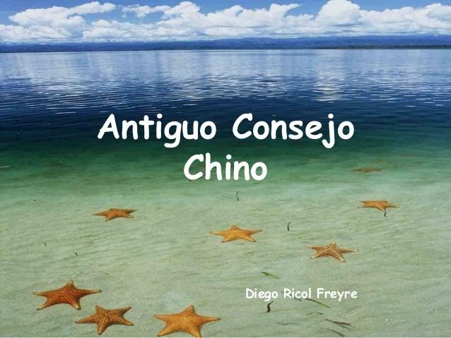 Antiguo Consejo Chino Diego Ricol Freyre