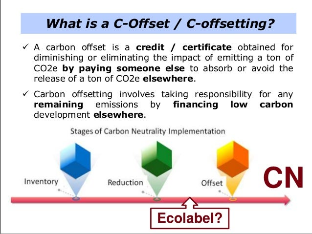 Developing a Carbon Offsetting Scheme for the Tourist Sector