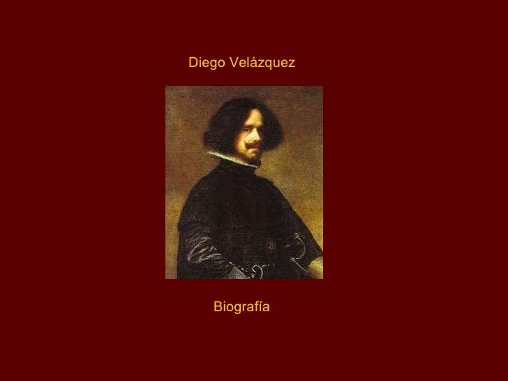 Diego Velázquez Biografía