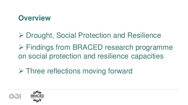 Social Protection – A main Pillar in Drought Resilience?  Experiences from sub-Saharan Africa Slide 3