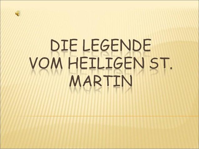 Legende St Martin