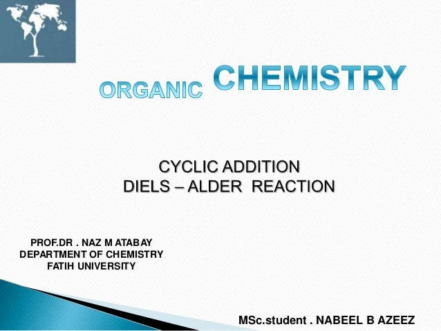 diels alder reaction essay Include this information when citing this paper computational design of an enzyme  the diels-alder reaction is a cornerstone in organic synthesis,.