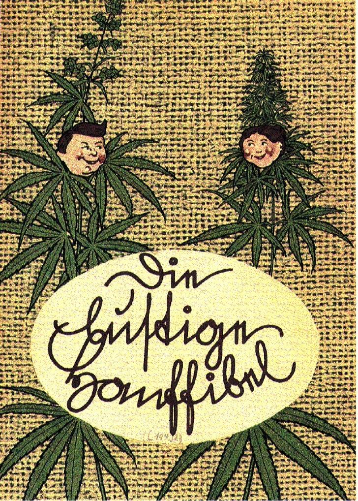 """""""Die lustige Hanffibel"""", Germany 1942"""