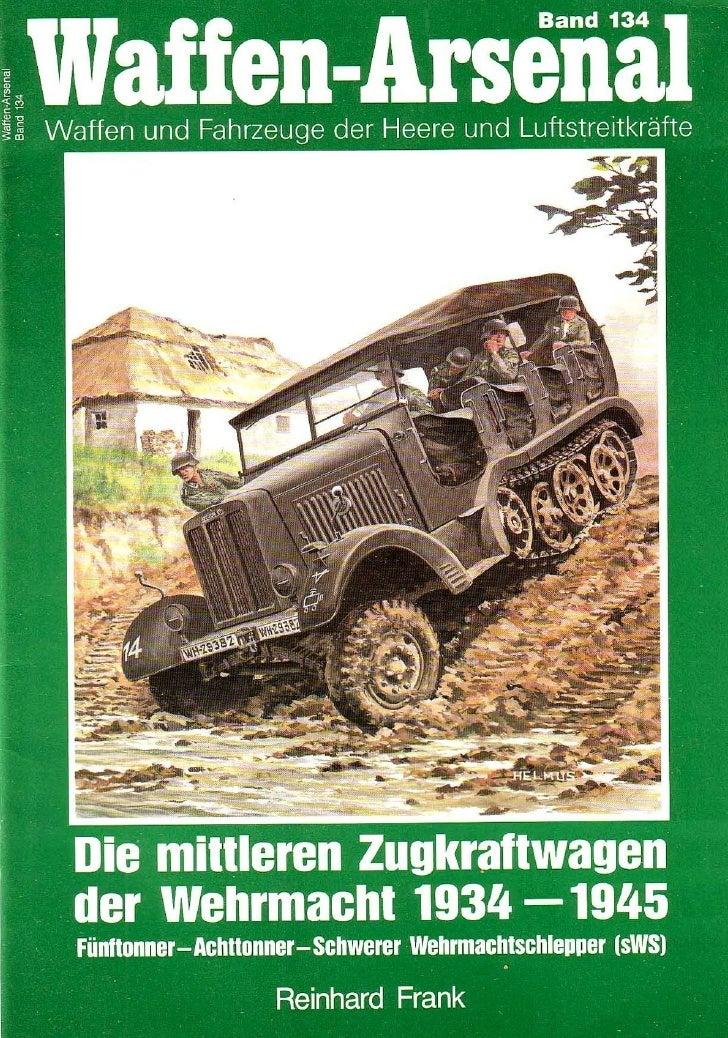 Die Mittleren  Zugkraftwagen Der  Wehrmacht 1934 1945