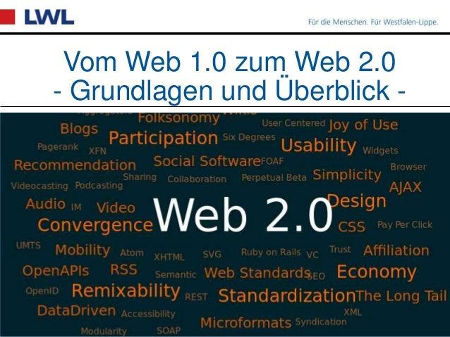 Vom Web 1.0 zum Web 2.0 - Grundlagen und Überblick -