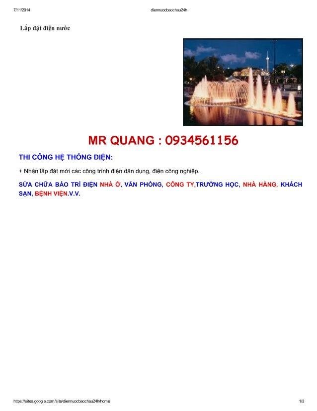 thợ sửa điện nước ở Hoàng Quốc Việt 0934561156