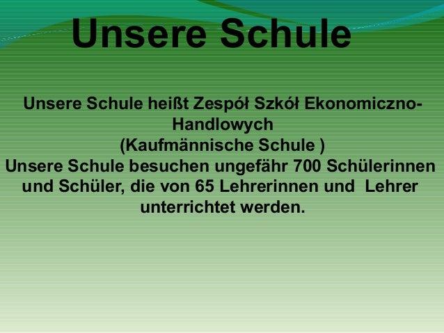 DDie PTT von der polnischen Schule (Zespół Szkół Ekonomiczno-Handlowych) Slide 2