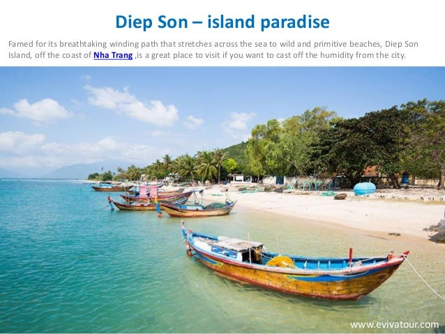 Diep Son – island paradise Famed for its breathtaking winding path that stretches across the sea to wild and primitive bea...