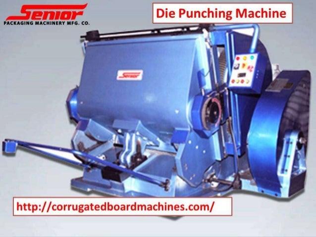 Die punching machine -corrugatedboardmachines- corrugated