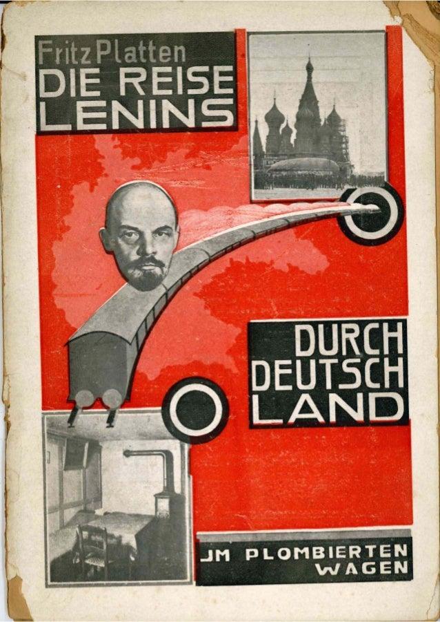 Die Reise Lenins durch Deutschland