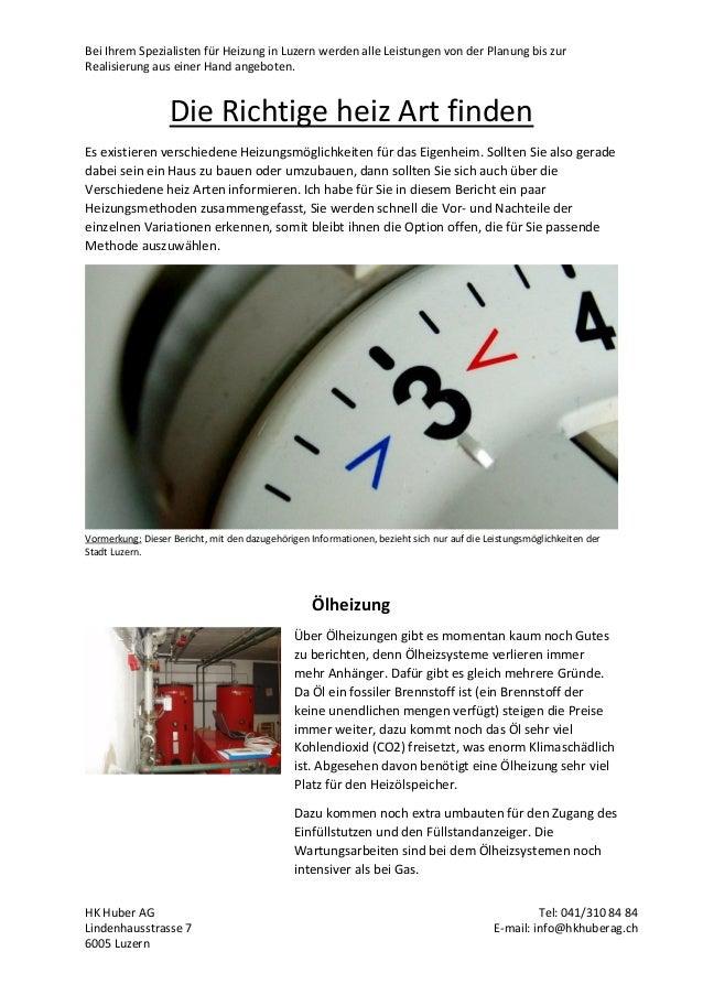 Bei Ihrem Spezialisten für Heizung in Luzern werden alle Leistungen von der Planung bis zur Realisierung aus einer Hand an...