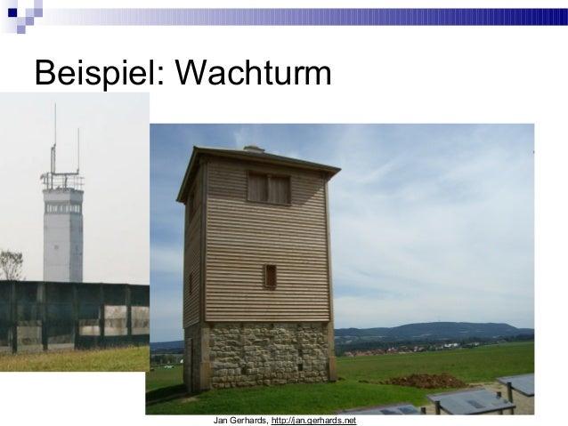 Beispiel: WachturmJan Gerhards, http://jan.gerhards.net