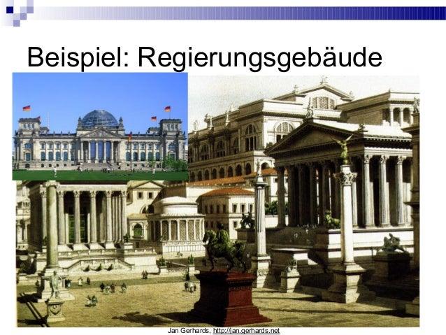 Beispiel: RegierungsgebäudeJan Gerhards, http://jan.gerhards.net