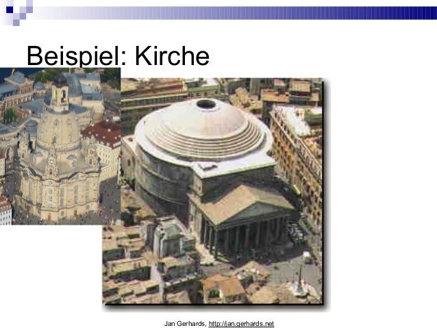 Beispiel: KircheJan Gerhards, http://jan.gerhards.net