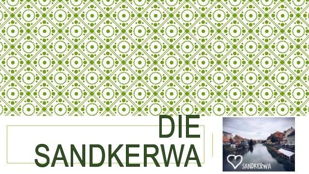 """WAS IST """"SANDKERWA""""? Die Sandkerwa (hochsprachlich Sandkirchweih) - das traditionelle Bamberger Volksfest, das jedes Jahr ..."""