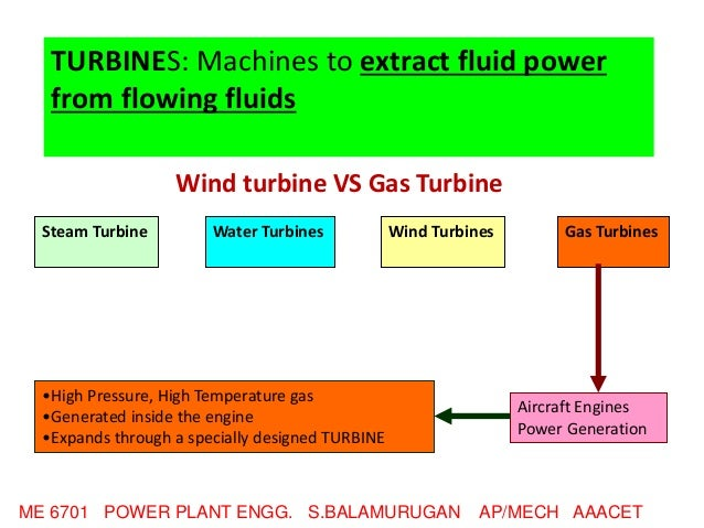 DIESEL, GAS TURBINE & COMBINED CYCLE POWER PLANTS UNIT III
