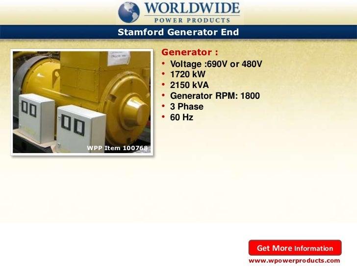 Rpm Natural Gas Generator