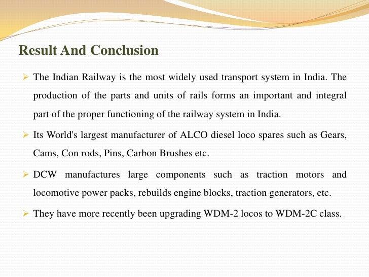 Diesel Loco Modernization