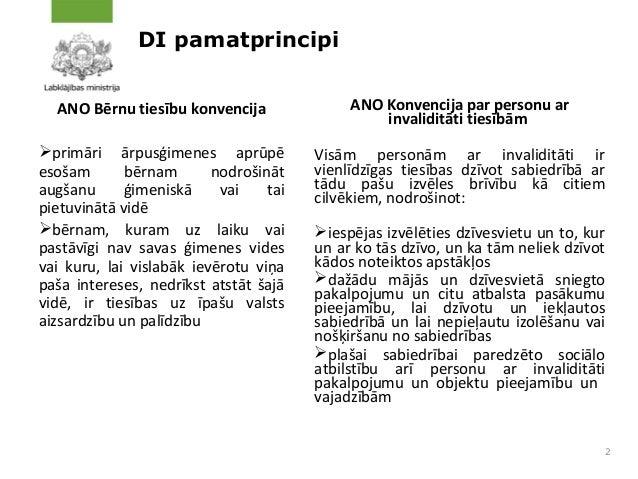 Deinstitucionalizācijas procesa aktualitātes ESF projektu ietvaros Slide 2