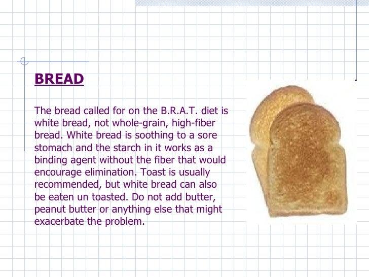 Brat Diet Food Choices