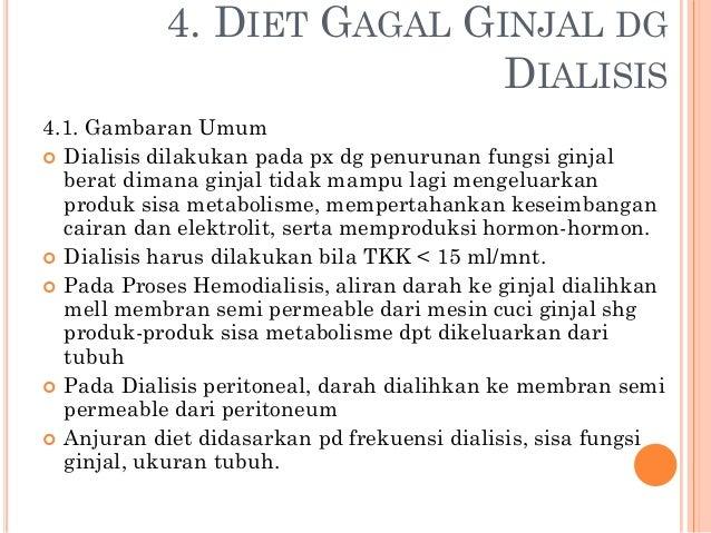 Makanan Yang Baik Dikonsumsi Untuk Penderita Gagal Ginjal