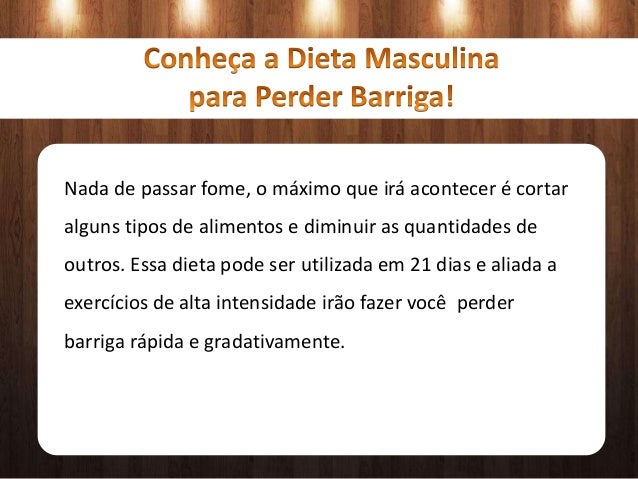 Dieta masculina para perder barriga emagrecer sa de - Alimentos para perder barriga ...