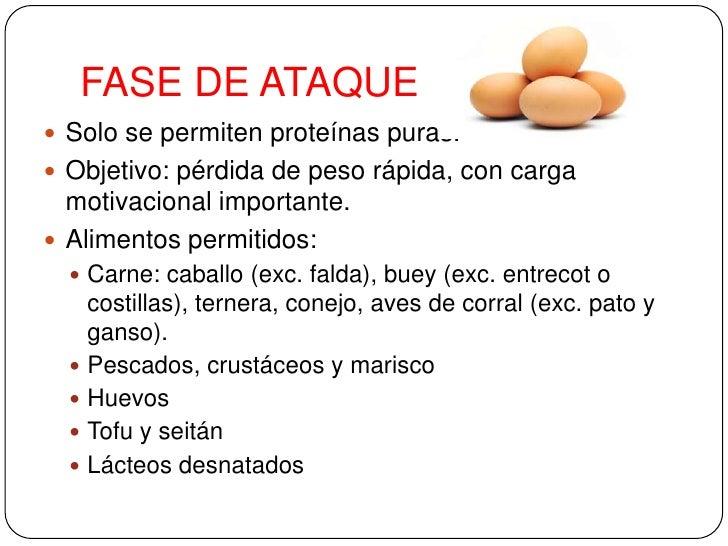 Dieta dukan - Alimentos permitidos fase crucero ...