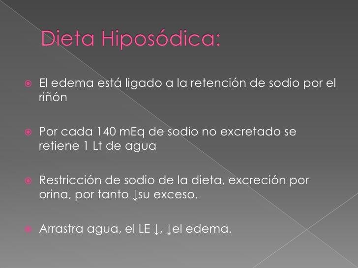 NUTRIOLOGIA CLINICA Dieta hiposódica