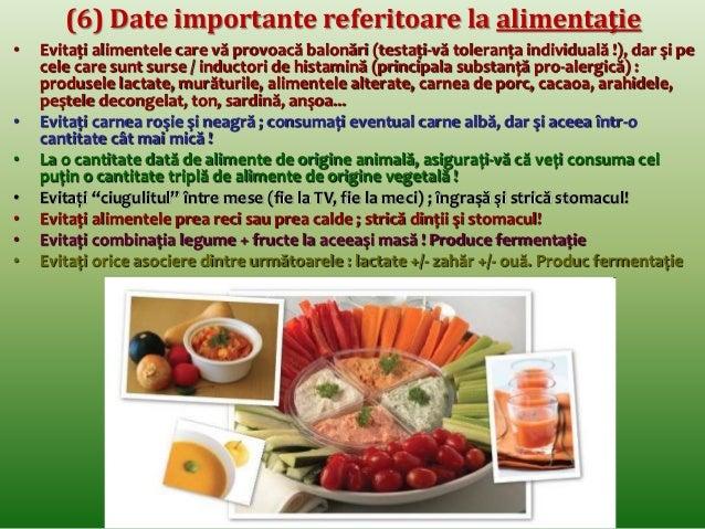 (3) Corelaţii dintre alimentaţie şi alte principii de  sănătate : odihna  • Ultima masă (cina) va fi luată cu minim 4 ore ...