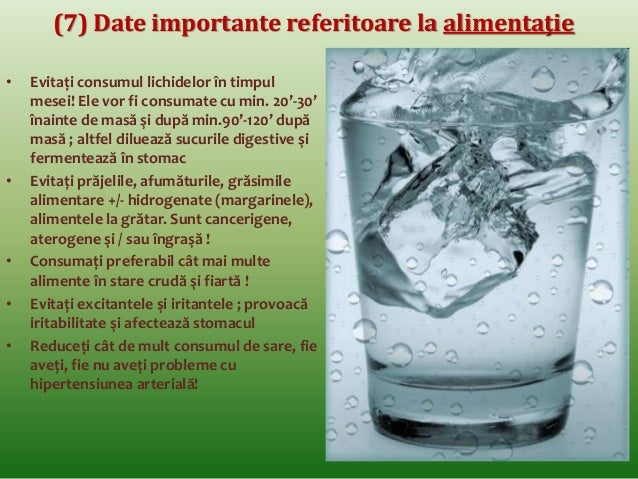 (4) Corelaţii dintre alimentaţie şi alte principii de  sănătate: cumpătarea  • Alimentele vor fi consumate cât trebuie,  c...