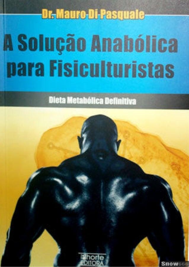 libro dieta anabolica mauro di pasquale