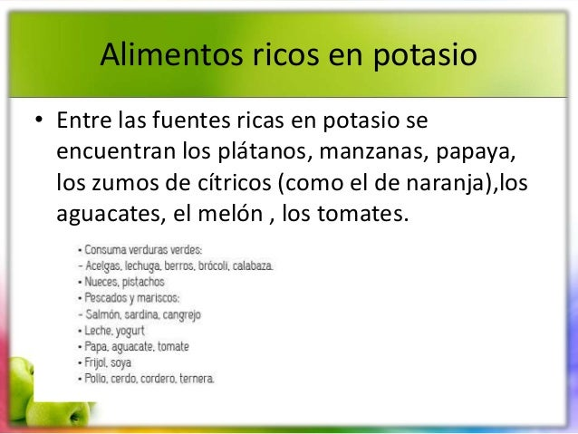 Dieta modificada en sodio potasio proteina y fibra - Alimentos ricos en proteinas pdf ...