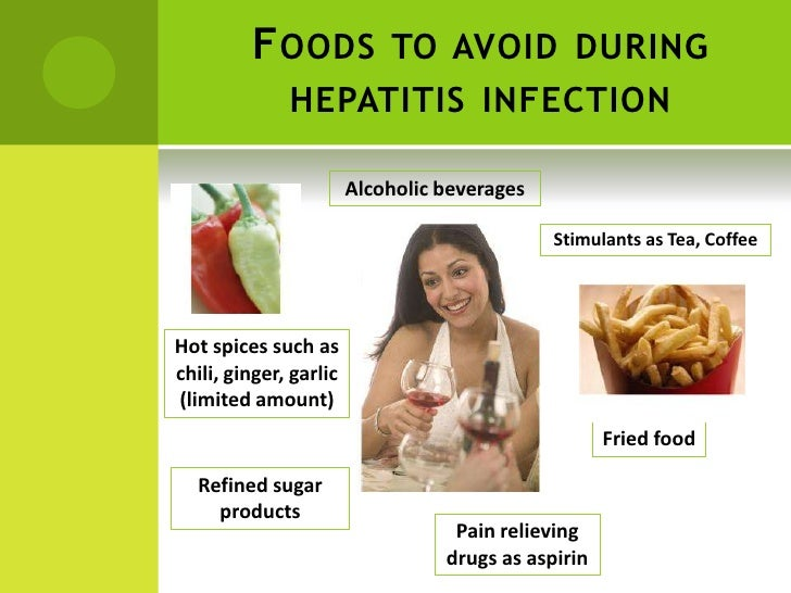 Diet and hepatitis