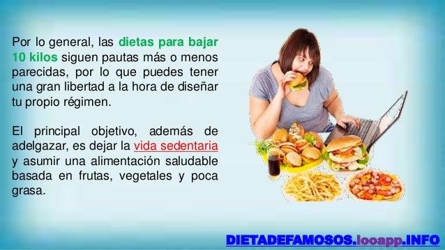 Dieta para bajar de peso en una semana 10 kilos - Como bajar 15 kilos en un mes ...