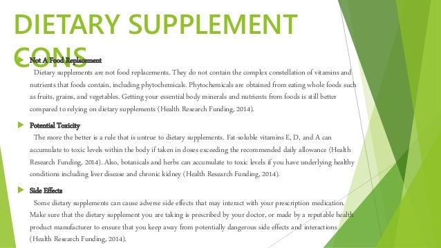 Vitamin Supplements Advantages And Disadvantages