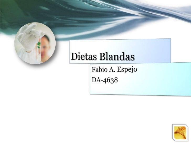¿Qué Es una Dieta Blanda?Generalmente, una dieta blandaelimina alimentos que sean difíciles demasticar o deglutir, y tambi...