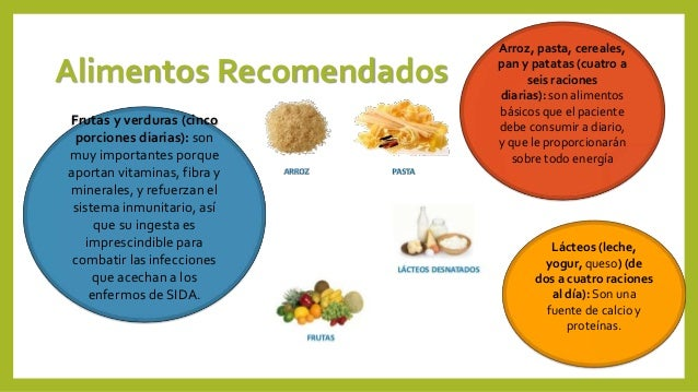 dietas para la anemia y el sida