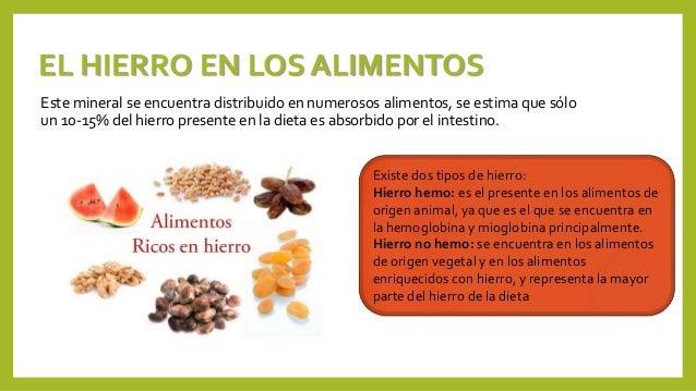 Dietas para la anemia y el sida - Alimentos que contengan hierro para embarazadas ...