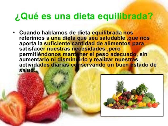 Dieta y salud for Como hacer una dieta equilibrada semanal