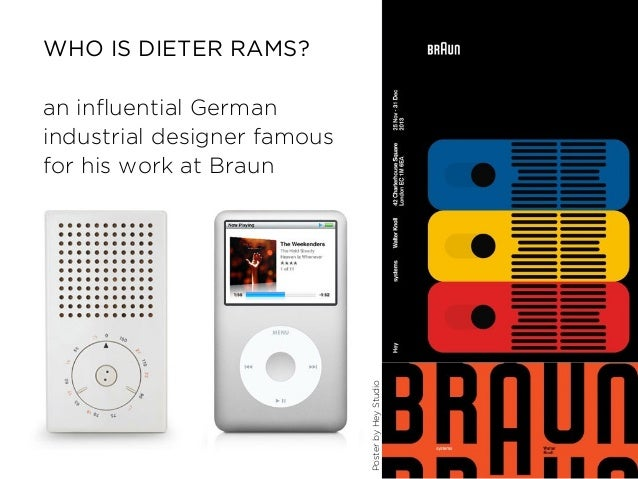 Dieter Rams  Principles Of Good Web Design