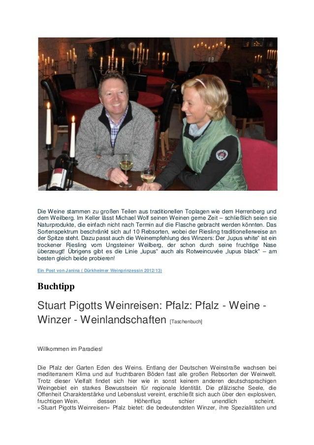 Die Weine stammen zu großen Teilen aus traditionellen Toplagen wie dem Herrenberg und dem Weilberg. Im Keller lässt Michae...