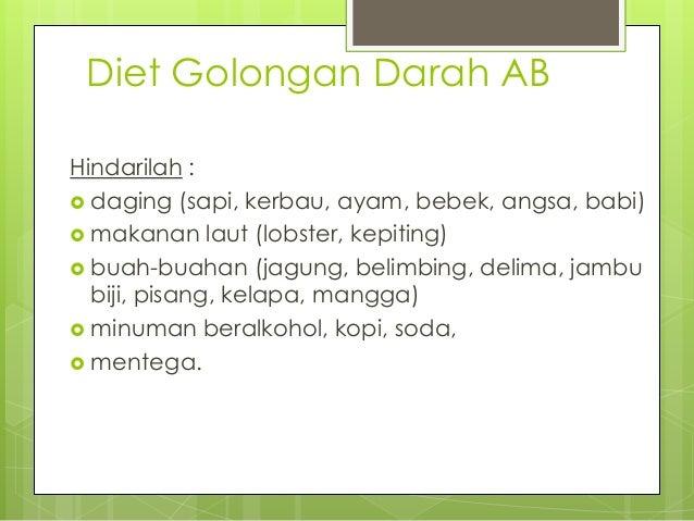 Informasi penting! Inilah Diet Golongan Darah B