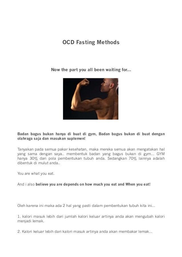 Cara Diet OCD ala Deddy Corbuzier, Turunkan Berat Badan dengan Puasa