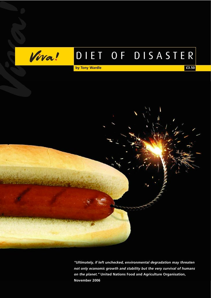 "DIET OF DISASTER by Tony Wardle                                                      £3.50     ""Ultimately, if left unchec..."
